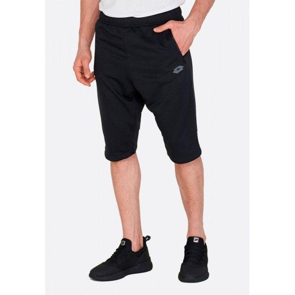 Купить Мужские шорты, Бриджи мужские Lotto DINAMICO II PANT MID PL ALL BLACK 213040/1CL, Синтетика, Китай