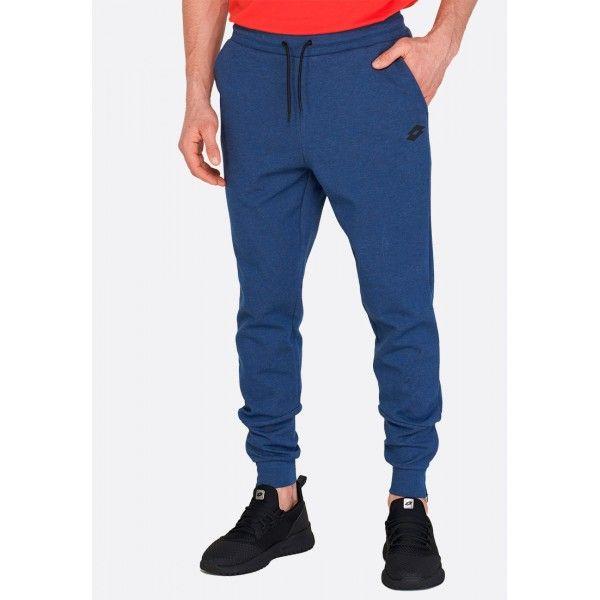 Купить Спортивные штаны мужские Lotto DINAMICO II PANT CUFF MEL CO BLUE PEONY 213075/5P9, Хлопок/синтетика, Китай