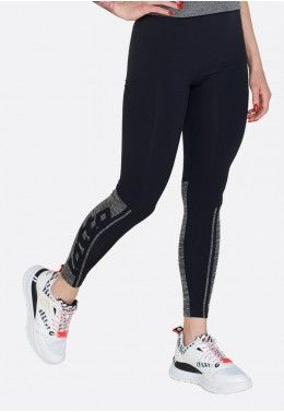 Реглан женский Lotto ATHLETICA CLASSIC W SWEAT RN FT 213430/0F1 Леггинсы женские Lotto VABENE PLUS W II LEGGING MEL SML 213112/5QN