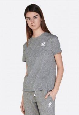 Женские футболки Футболка женская Lotto SMART W TEE MEL JS 213203/Q17