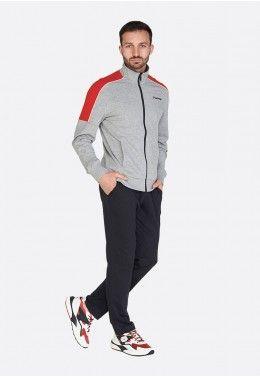 Спортивные Костюмы Спортивный костюм мужской Lotto SUIT MORE II BS MEL JS 213263/4VI