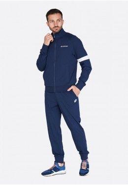 Мужские спортивные костюмы Спортивный костюм мужской Lotto SUIT TRIPLE II RIB JS 213266/1CI