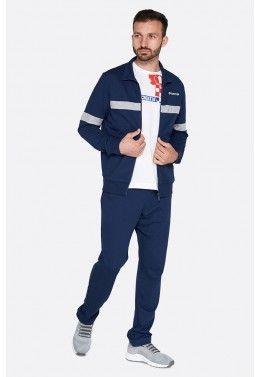 Спортивный костюм мужской Lotto SUIT DUAL II BS RIB FT 213268/1CI