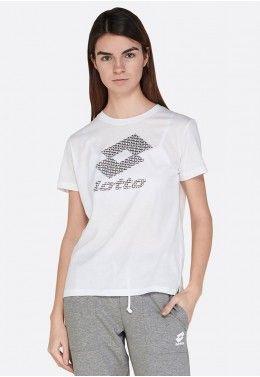 Футболка женская Lotto SMART W II TEE JS 214477/6OA Футболка женская Lotto SMART W TEE PRT1 JS 213300/07R