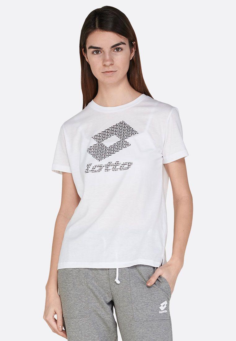 Футболка женская Lotto SMART W TEE PRT1 JS 213300/07R
