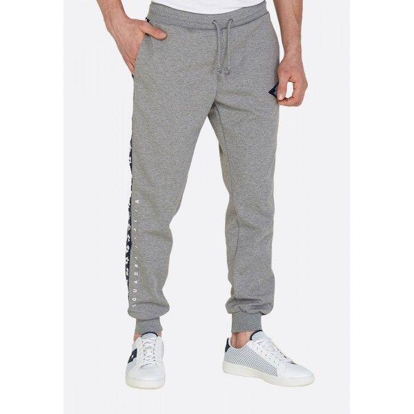 Купить Спортивные штаны мужские Lotto ATHLETICA DUE PANT RIB MEL PL GRYPHON GRAY 213372/Q17, Хлопок/синтетика, Китай