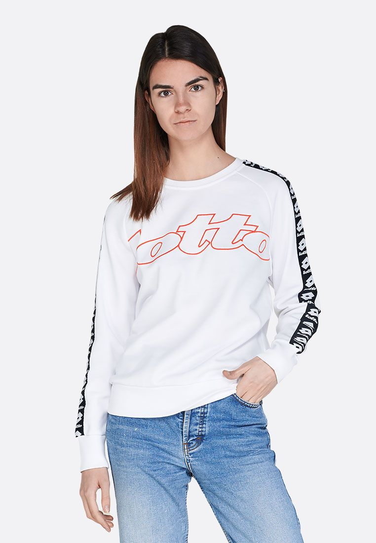 Реглан женский Lotto ATHLETICA CLASSIC W SWEAT RN FT 213430/0F1