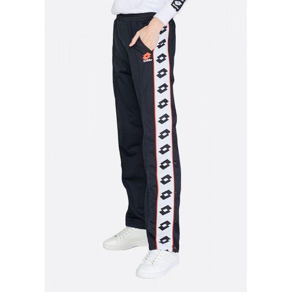 Купить Спортивные штаны женские Lotto ATHLETICA PRIME W PANT PL ALL BLACK 213480/1CL, Синтетика, Китай