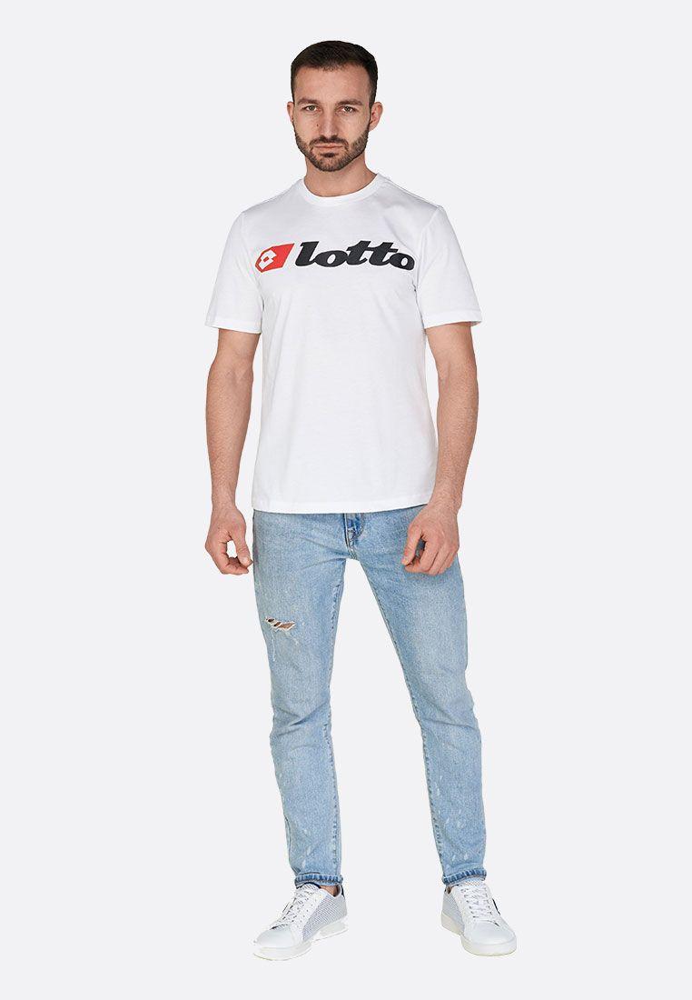 Футболка мужская Lotto ATHLETICA DUE TEE LOGO JS 213486/0F1