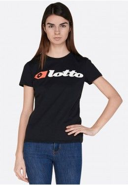 Футболка женская Lotto ATHLETICA PRIME W TEE JS 213475/0F1 Футболка женская Lotto ATHLETICA DUE W TEE LOGO JS 213488/1CL