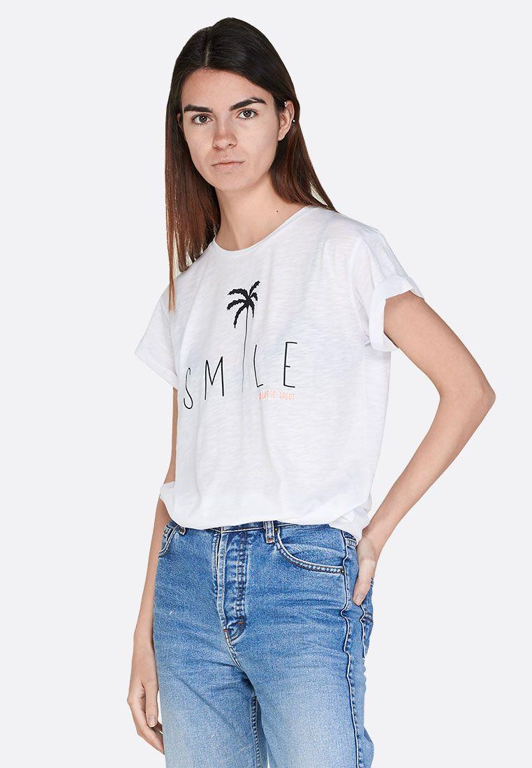 Футболка женская Lotto TEE SMILE W PL 213490/0F1