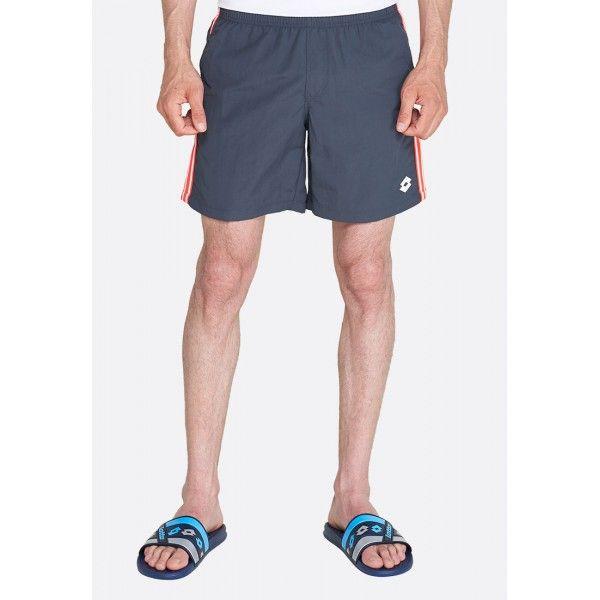 Купить Мужские шорты, Шорты пляжные мужские Lotto SHORT BEACH NY EBONY 213504/014, Синтетика, Китай