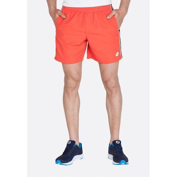 Купить Мужские шорты, Шорты пляжные мужские Lotto SHORT BEACH NY RED FLUO 213504/4M6, Синтетика, Китай