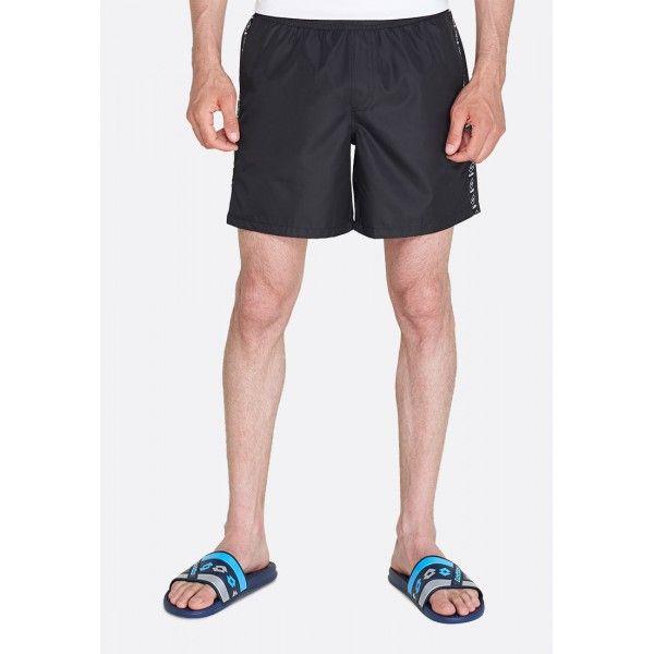 Купить Мужские шорты, Шорты пляжные мужские Lotto SHORT BEACH DUE PL ALL BLACK 213505/1CL, Синтетика, Лаос