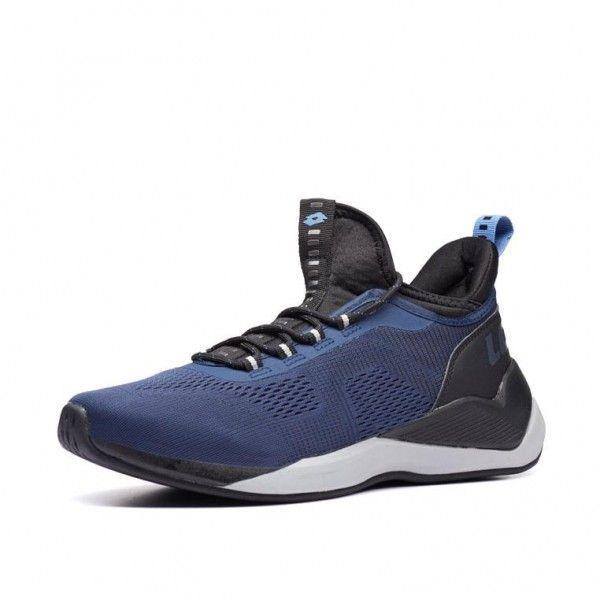 Купить Мужские кроссовки, Кроссовки мужские Lotto ESCAPE AMF II DRESS BLUE/PLOMB GRAY/ALL BLACK 213570/6I2, Двойная сетка/полиуретан, Китай