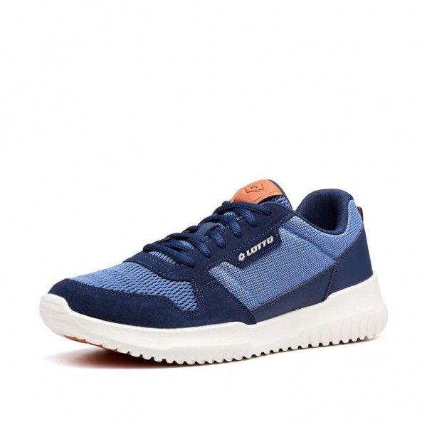Купить Мужские кроссовки, Кроссовки мужские Lotto CITYRIDE AMF SMART MSH DRESS BLUE/MOONLIGHT BLUE 213571/5VE, Натуральная замша/сетка нейлон/полиуретан, Камбоджа