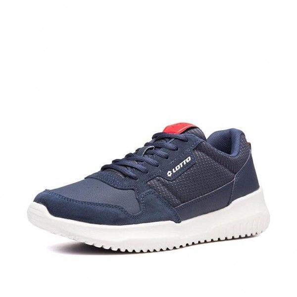Купить Мужские кроссовки, Кроссовки мужские Lotto CITYRIDE AMF SMART NU DARK BLUE/GRAVITY TITAN/SAMBA 213572/6I6, Полиуретан; нейлон, Камбоджа