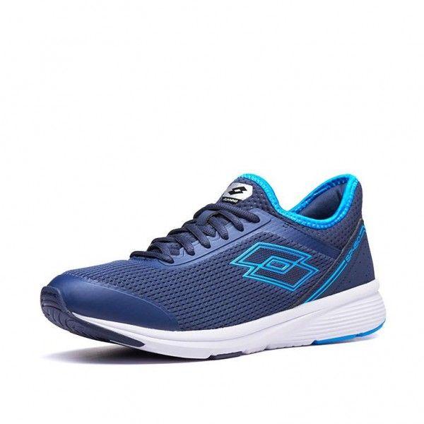 Купить Мужские кроссовки, Кроссовки мужские Lotto SPEEDRIDE 450 NAVY BLUE/DIVA BLUE 213587/5QJ, Сетка нейлон/полиуретановые вставки, Китай