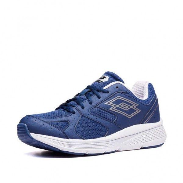 Купить Мужские кроссовки, Кроссовки мужские Lotto SPEEDRIDE 601 VII NAVY BLUE/GRAVITY TITAN 213600/5YM, Сетка нейлон/полиуретановые вставки, Китай