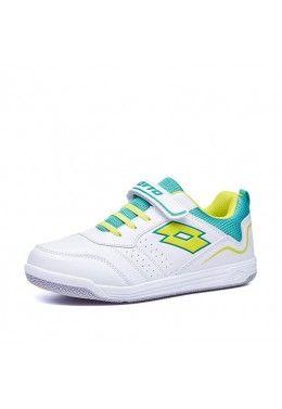 Обувь для тенниса Кроссовки детские Lotto SET ACE AMF XIV CL SL 213697/61K