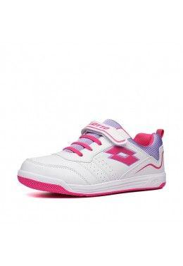 Спортивная обувь для девочек Кроссовки детские Lotto SET ACE AMF XIV CL SL 213697/61L