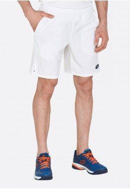 Кроссовки теннисные мужские Lotto T-TOUR 600 XI T6404 Теннисные шорты мужские Lotto TOP TEN II SHORT9 PL 214010/0F1