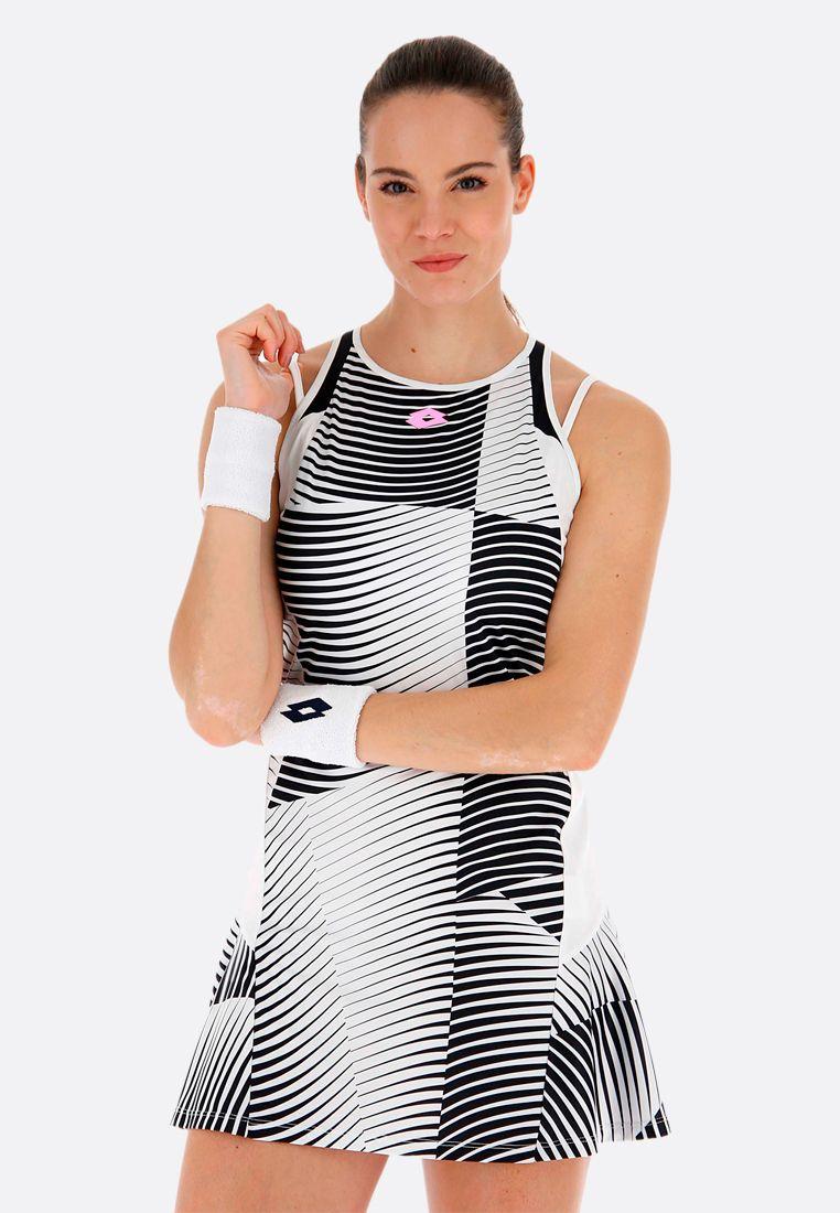 Теннисное платье женское Lotto TOP TEN W II DRESS PRT PL 214214/1CY
