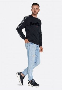 Реглан мужской Lotto ATHLETICA CLASSIC II SWEAT RN FT 214413/1CL