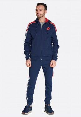 Мужские спортивные костюмы Спортивный костюм мужской Lotto ATHLETICA LG SUIT HD FL 214439/1ZM