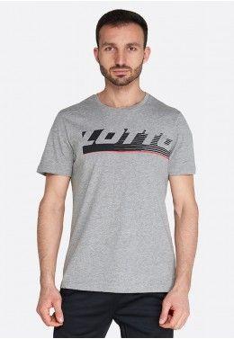 Мужские футболки Футболка мужская Lotto LOGO IV TEE BS MEL JS 214441/Q17