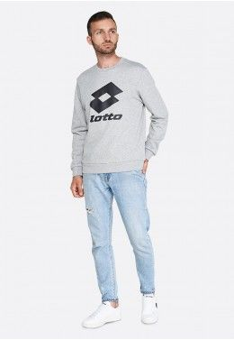 Реглан мужской Lotto SMART II SWEAT RN MEL FT 214466/1CW