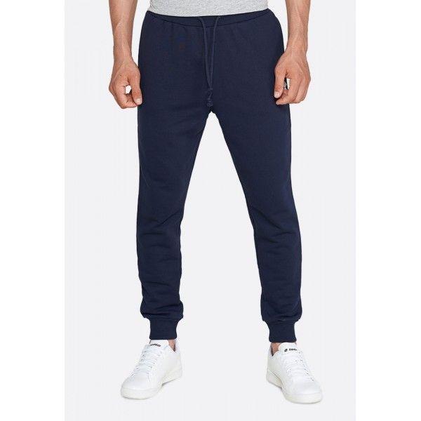 Купить Спортивные штаны мужские Lotto SMART II PANT FT NAVY BLUE 214475/1CI, Хлопок/синтетика, Китай