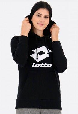 Женская спортивная одежда Худи женская Lotto SMART W II SWEAT HD FT 214479/1CL