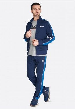 Спортивный костюм мужской Lotto SUIT DUAL III RIB FL 214714/1CL Спортивный костюм мужской Lotto SUIT MORE III BS FL 214698/1CI