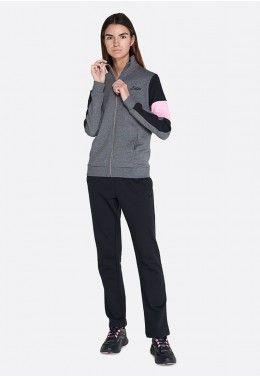 Женские спортивные костюмы Спортивный костюм женский Lotto SUIT SABRA W III MEL FL 214705/1PC