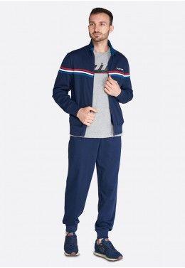 Спортивный костюм мужской Lotto SUIT DUAL III RIB FL 214714/1CI