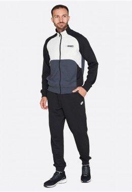 Спортивная одежда Спортивный костюм мужской Lotto SUIT TRIPLE IV RIB MEL FT 215827/7LR