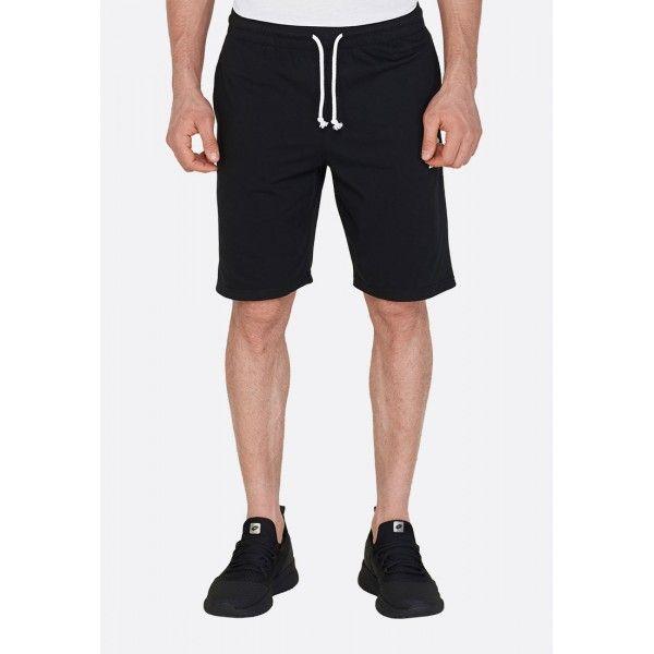 Купить Мужские шорты, Шорты мужские Lotto SMART BERMUDA JS ALL BLACK L57081/1CL, Хлопок/синтетика, Бангладеш