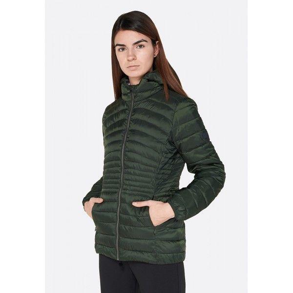 Купить Женские куртки, Куртка женская Lotto BOMBER CORTINA W PAD PL GREEN RESIN L58562/26O, Синтетика, Китай