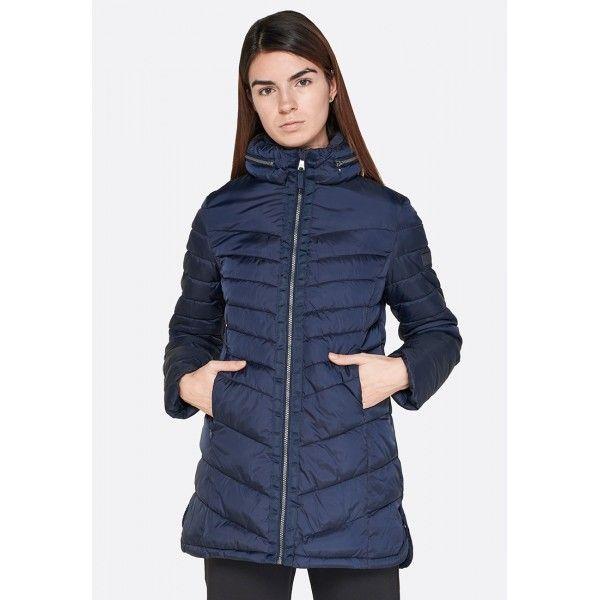 Купить Женские куртки, Куртка женская Lotto LUNGO VERBIER W PAD PL NAVY BLUE L58629/1CI, Синтетика, Китай