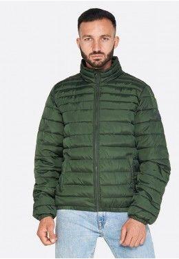 Мужская спортивная одежда Куртка мужская Lotto BOMBER CORTINA PAD PL L58642/26O