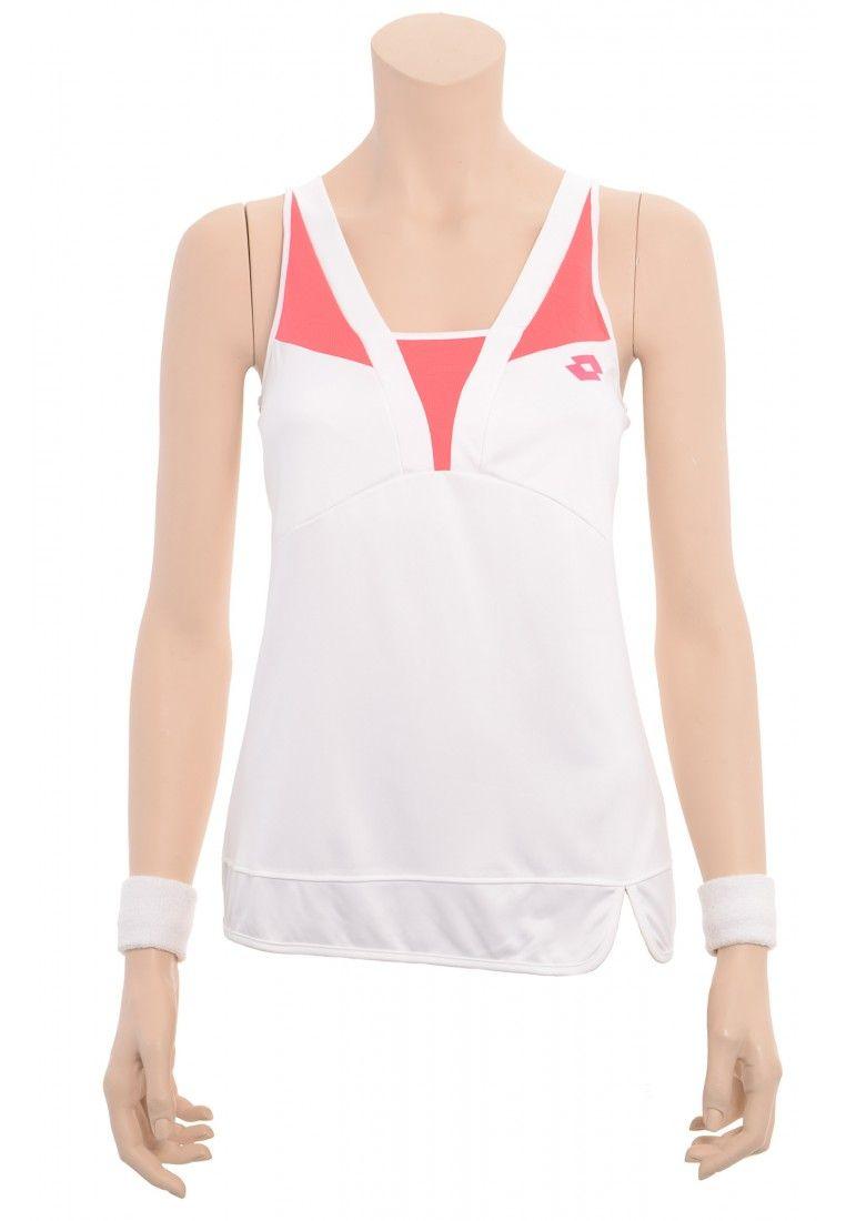 Майка для тенниса женская Lotto TANK NATTY Q2396