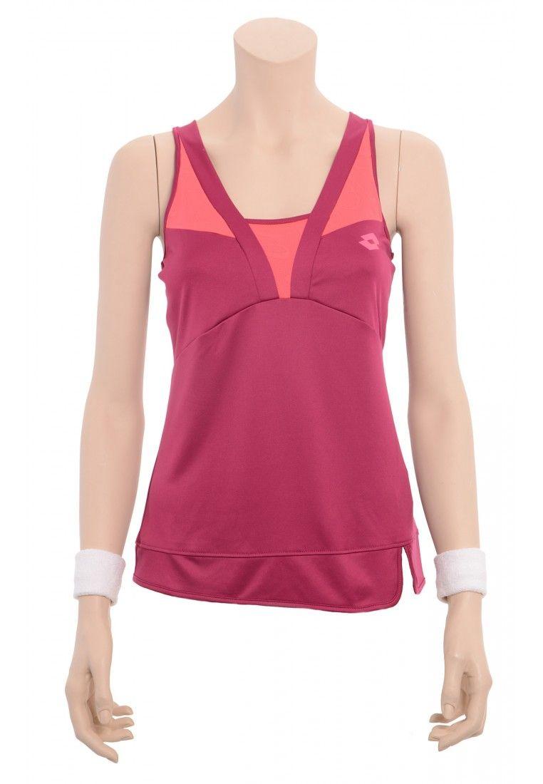 Майка для тенниса женская Lotto TANK NATTY Q2397