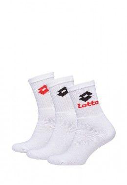 Кроссовки теннисные мужские Lotto MIRAGE 100 SPD 210732/1E6 Носки спортивные Lotto SOCK QUARTER - PK3PRS (Упаковка,3 пары) R1554