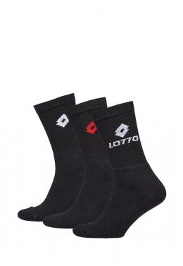 Спортивные носки Носки спортивные Lotto SOCK QUARTER - PK3PRS (Упаковка,3 пары) R1555