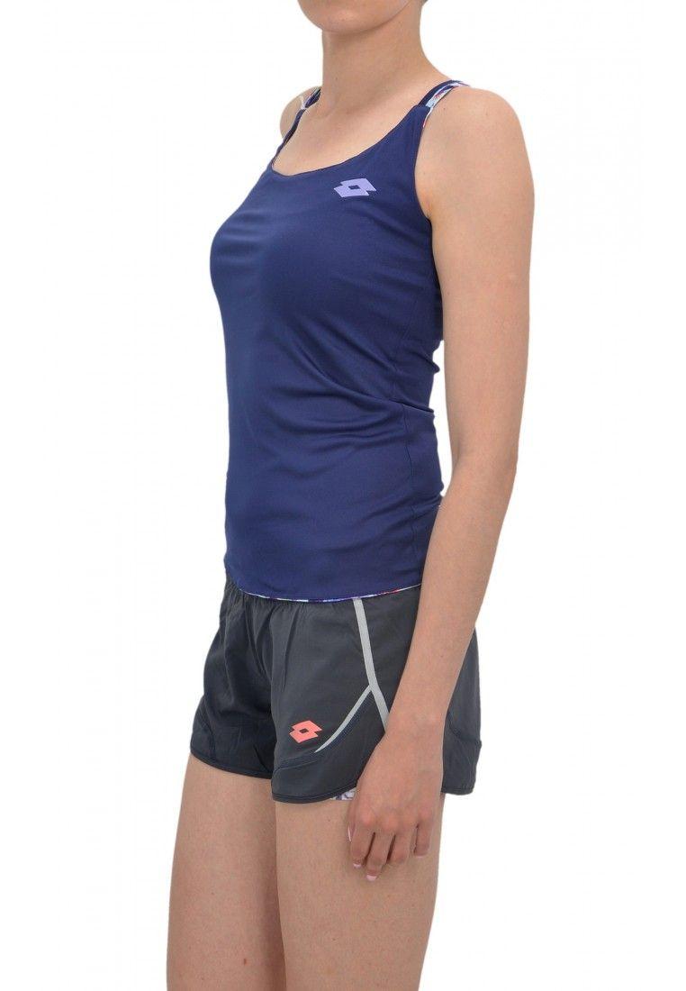 Майка для тенниса женская Lotto TWICE TANK+BRA W R9808