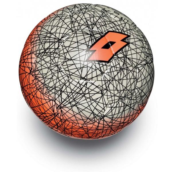 Купить Футбольные мячи, Мяч футбольный Lotto BALL FB500 LZG 5 FLUO FANTA/WHITE S4087, Термополиуретан, Пакистан