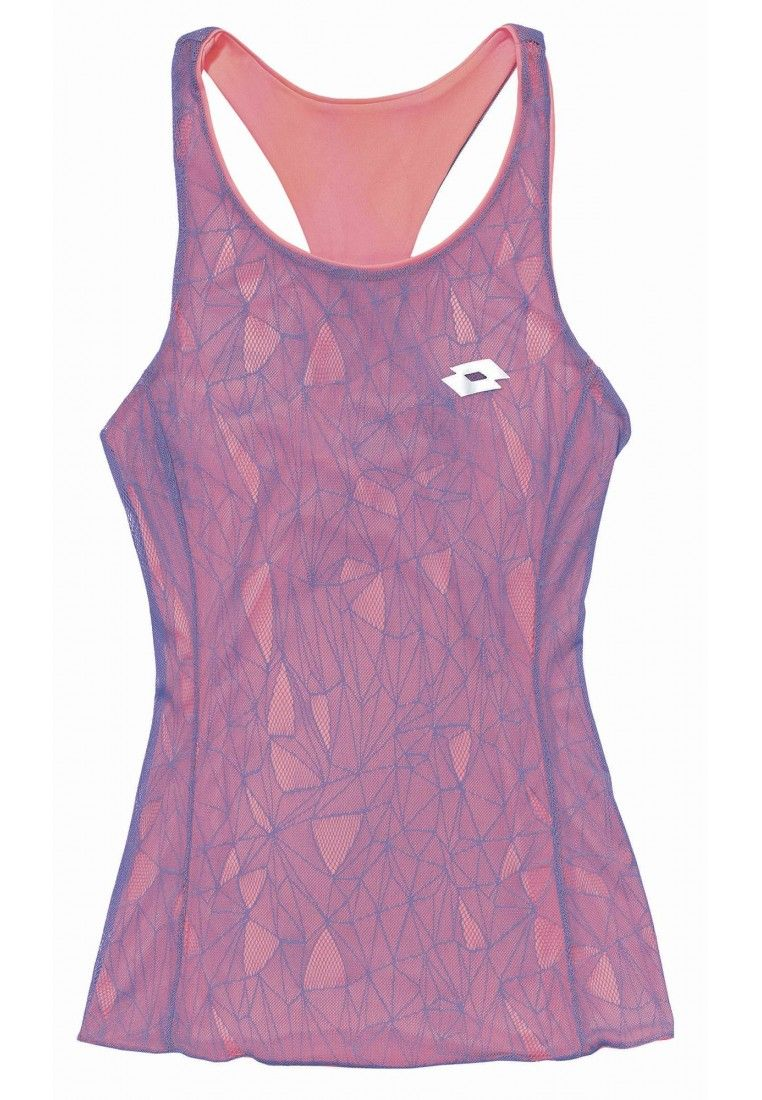 Майка для тенниса женская Lotto TWICE II TANK+BRA W S5567
