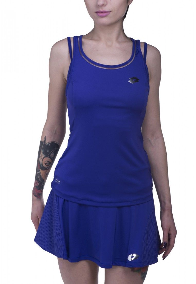 Майка для тенниса женская Lotto NIXIA III TANK + BRA W S5573