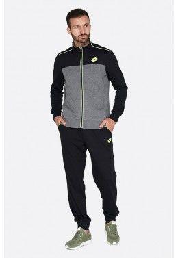 Мужские спортивные костюмы Спортивный костюм мужской Lotto MASON IV SUIT RIB JS S6901